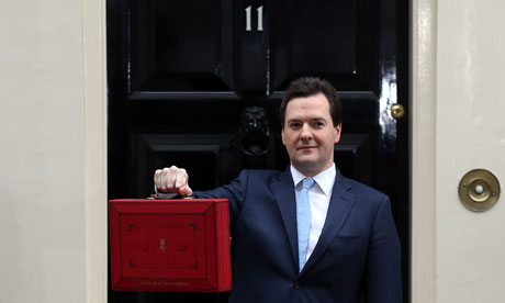 Looking like he may at any point need to open and then vomit into the briefcase. Photograph: Matt Cardy/Getty Images
