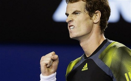 """Murray nicely demonstrating the """"Curmonsun"""" face."""