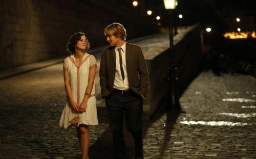 Marion Cottilard and Owen Wilson making my poor heart melt.
