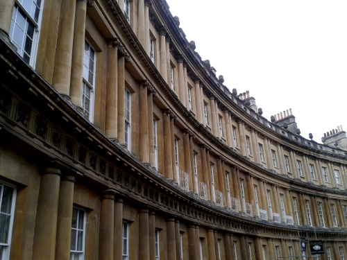 The beautiful sweep of either the Circus or the Royal Crescent. I blame my tour guide.