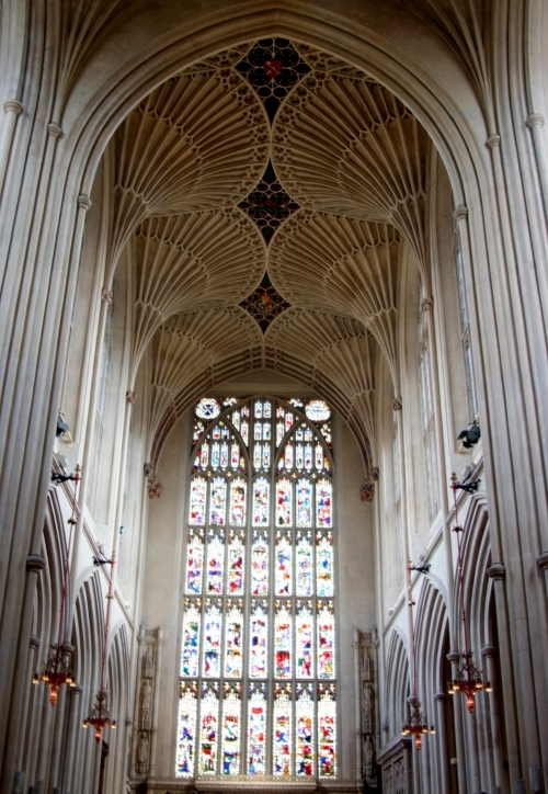 Fan vaulting is almost enough to make me believe in an intelligent creator. Almost.