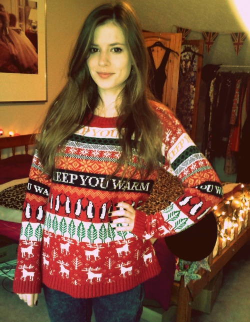 My Christmas jumper is pretty much the best thing ever.