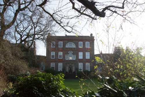 Right next door to our little flat for the weekend was Peckover House.