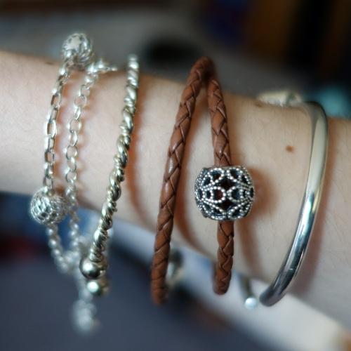 A Pandora charm bracelet from Jess