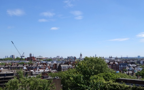 View from Kensington Roof Gardens