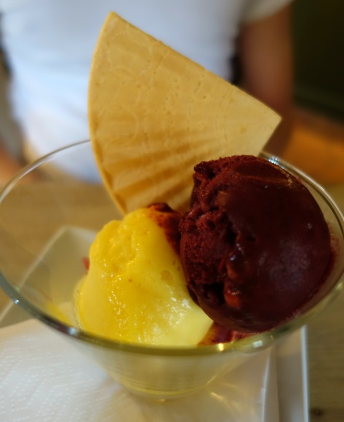 Sorbet at The Greyhound