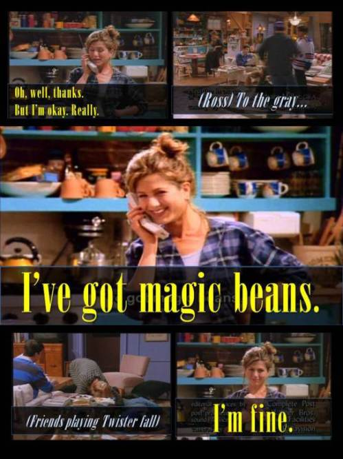Friends Rachel Magic Beans